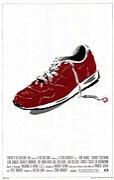 Muž s červenou botou
